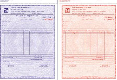 Giá trị của hóa đơn đỏ/GTGT của từng loại mặt hàng